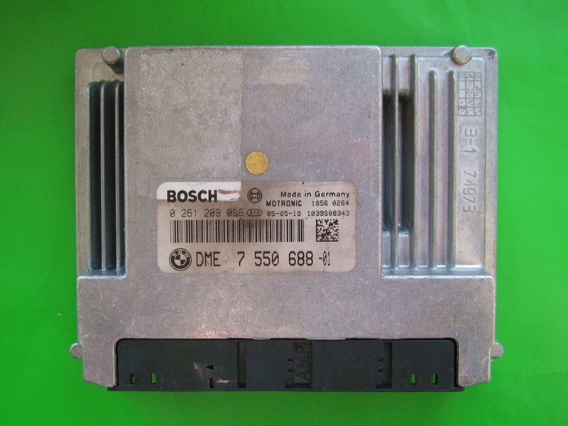 ECU Bmw 116 DME7550688 0261209036 ME9.2