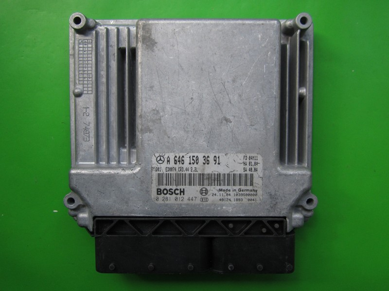 ECU Mercedes E 2.2CDI A6461503691 0281012447 CR3.44 EDC16C2{