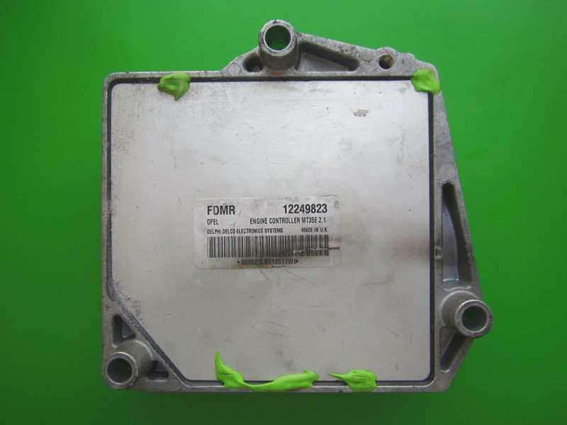 Defecte Ecu Opel Meriva 1.6 12249823 FDMR MT35E 2.1