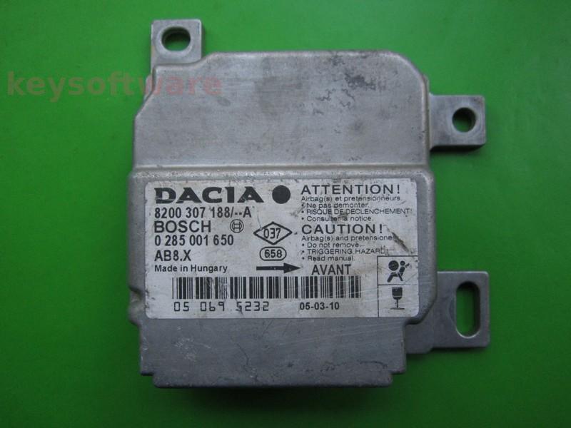 ALTELE: Airbag Dacia Logan 0285001650