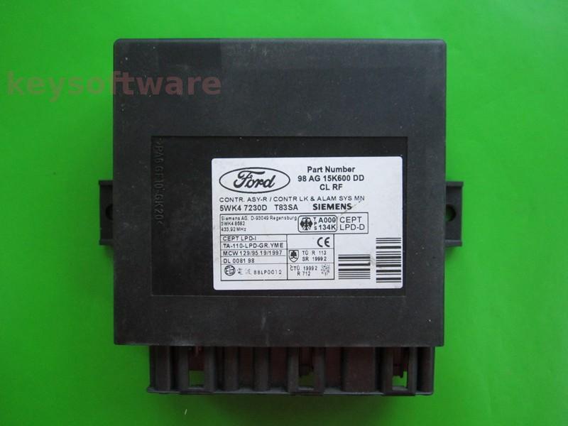 ALTELE: Confort Ford Focus 98AG15K600DD