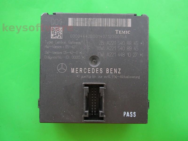 ALTELE: Modul usa Mercedes S A2215408845