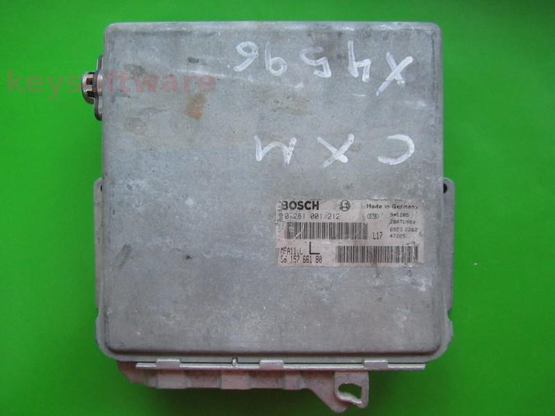 Defecte Ecu Citroen XM 2.5 0281001212 MSA11