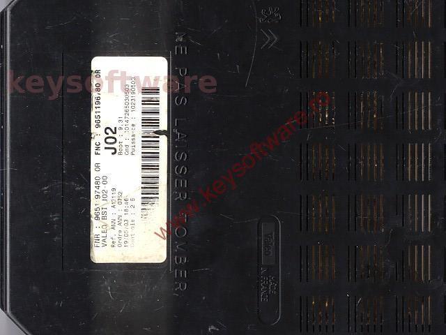 Defecte BSI Peugeot 307 9651197480