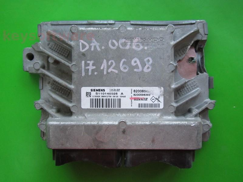 Defecte Ecu Dacia Sandero 1.4 8200856659 EMS3132