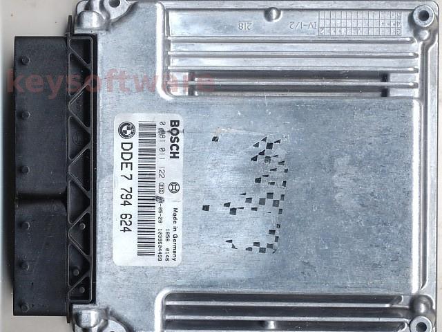 Defecte Ecu Bmw 320D 0281011122 DDE7794624 EDC16C1 E46