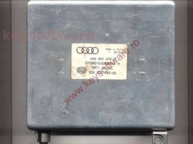 Defecte Ecu Audi A4 2.6 4A0907473D
