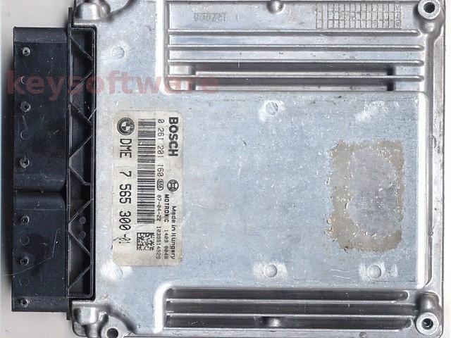 Defecte Ecu Bmw 320i 0261201160 DME7565300 MEV9.2 E90