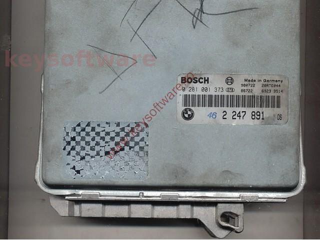Defecte Ecu Bmw 525 TDS 0281001373 2247891 E39 EDC1.3.1