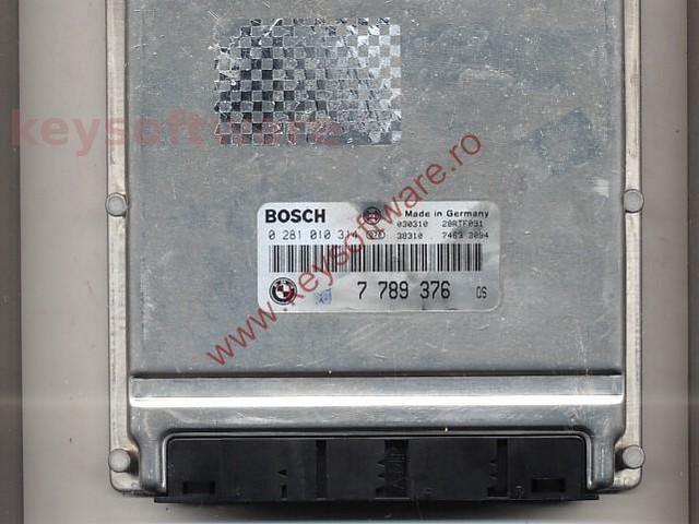 Defecte Ecu Bmw 525D 0281010314 7789376 E46 EDC15C4