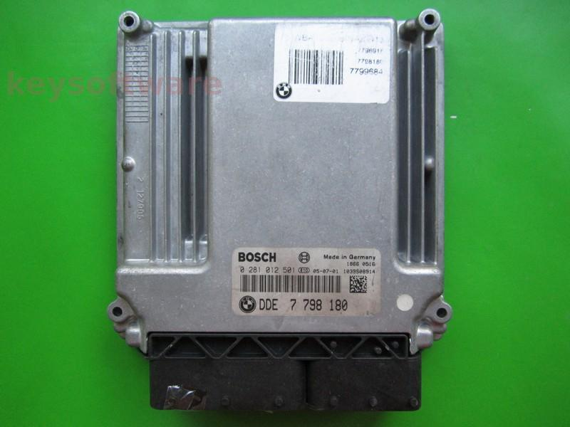 Defecte Ecu Bmw 320D 0281012501 DDE7798180 EDC16C35-2.12