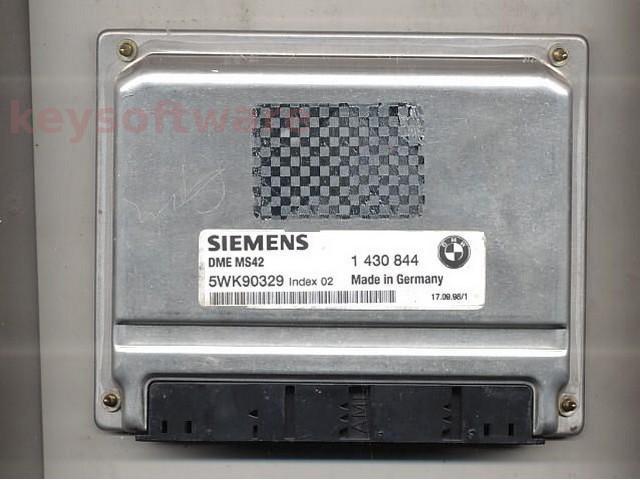 Defecte Ecu Bmw 328i 5WK90329 1430844 DME MS42 E46