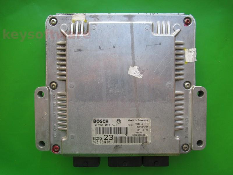 Defecte Ecu Citroen Xsara Picasso 2.0HDI 9656314380 0281011521