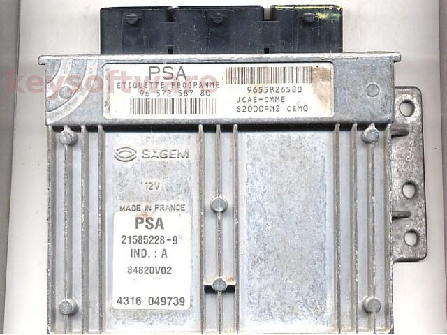 Defecte Ecu Citroen Xsara Picasso 1.8 9657258780 S2000PM2