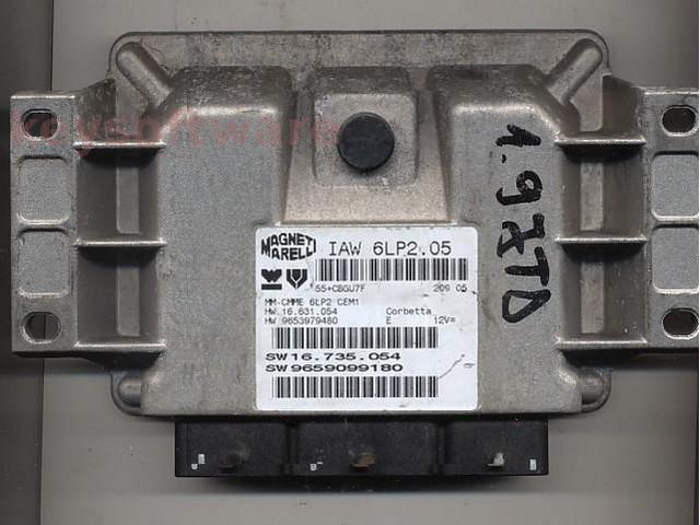 Defecte Ecu Citroen C4 1.4 9659099180 IAW 6LP2.05
