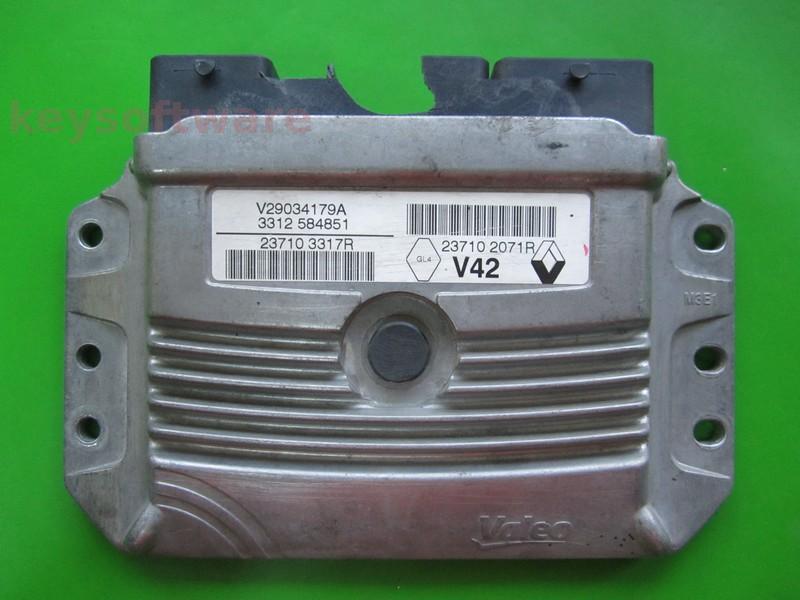 Defecte Ecu Dacia Logan 1.4 237103317R V42