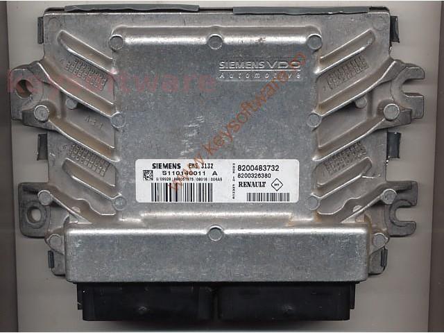 Defecte Ecu Dacia Logan 1.4 8200483732 EMS3132