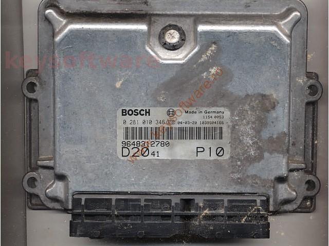 Defecte Ecu Fiat Ducato 2.0JTD 0281010346 EDC15C7