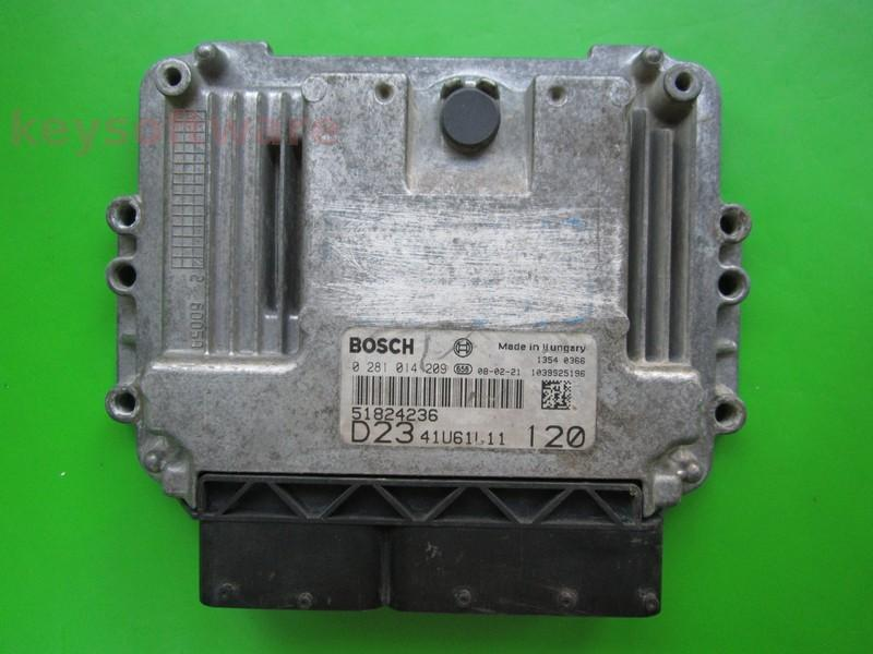 Defecte Ecu Fiat Ducato 2.0JTD 0281014209 EDC16C39