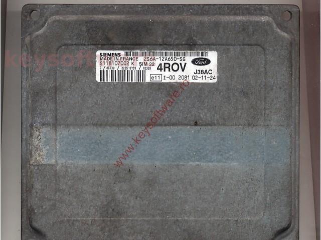 Defecte Ecu Ford Fiesta 1.4 2S6A-12A650-SG SIM22