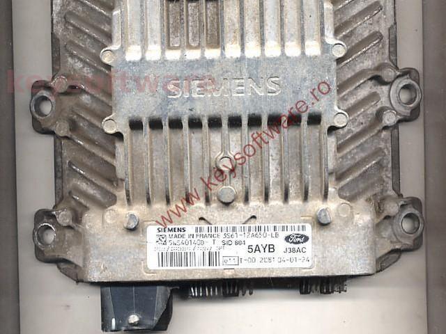 Defecte Ecu Ford Fiesta 1.4TDCI 3S61-12A650-LB SID802