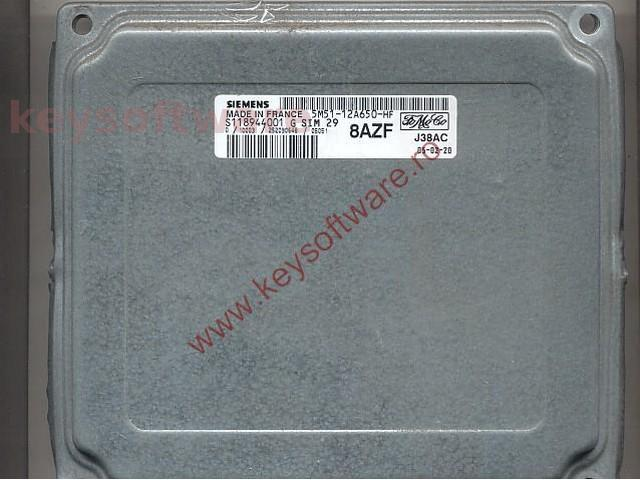Defecte Ecu Ford Focus 1.6 5M51-12A650-HF SIM29