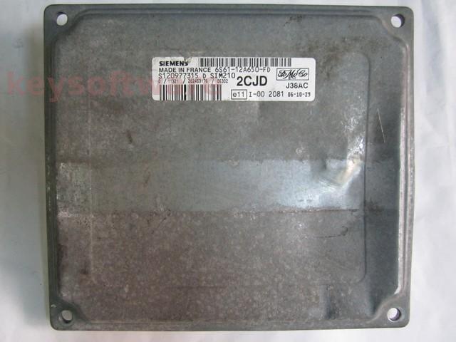 Defecte Ecu Ford Fiesta 1.25 6S61-12A650-FD SIM210