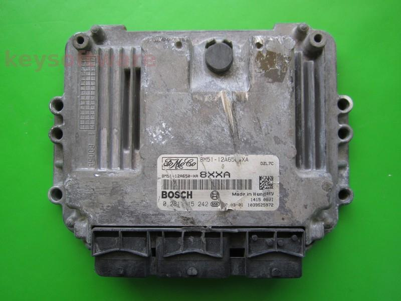 Defecte Ecu Ford Focus 1.6 8M51-12A650-XA EDC16C34