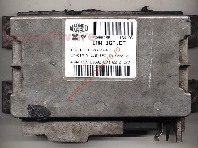 Defecte Ecu Lancia Y 1.2 46448299 IAW 16F.ET