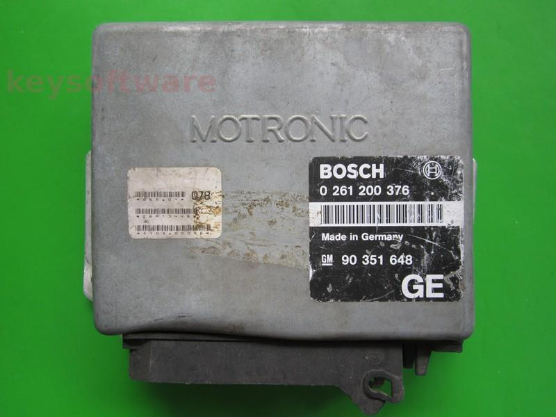 Defecte Ecu Opel Calibra 2.0 90351648 0261200376 M1.5.1