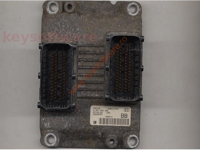 Defecte Ecu Opel Astra H 1.4 0261208396 Z14XEP ME7.6.2