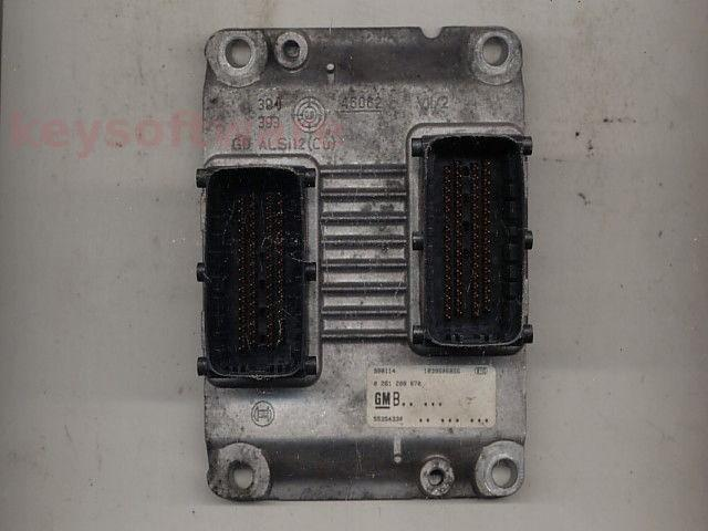 Defecte ECU Opel Corsa C 1.0 55354330 0261208670 Z10XEP ME7.6.2