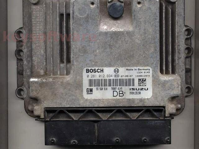 Defecte Ecu Opel Astra H 1.7CDTI 0281012694 EDC16C9 Z17DTH