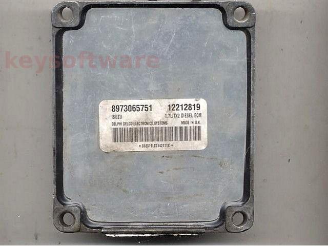 Defecte Ecu Opel Astra G 1.7DTI 12212819 Isuzu TX2