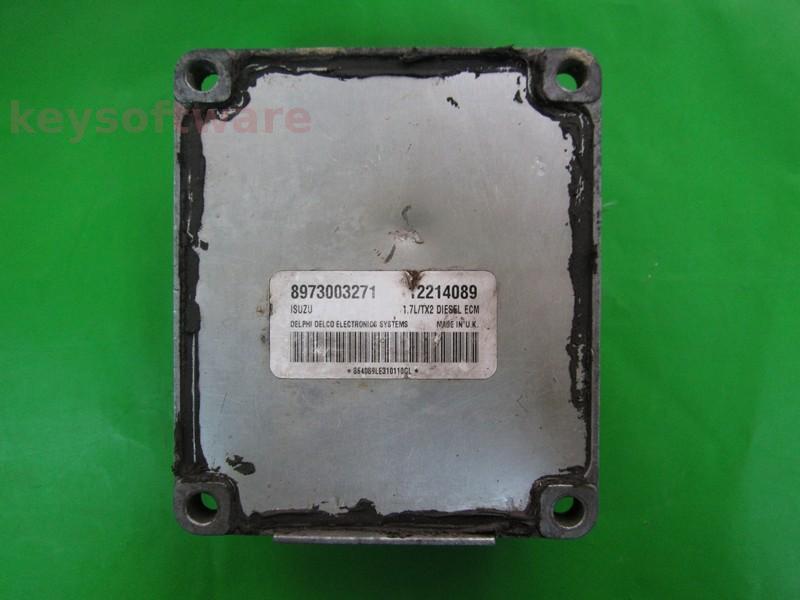 Defecte Ecu Opel Astra G 1.7DTI 12214089 Isuzu TX2