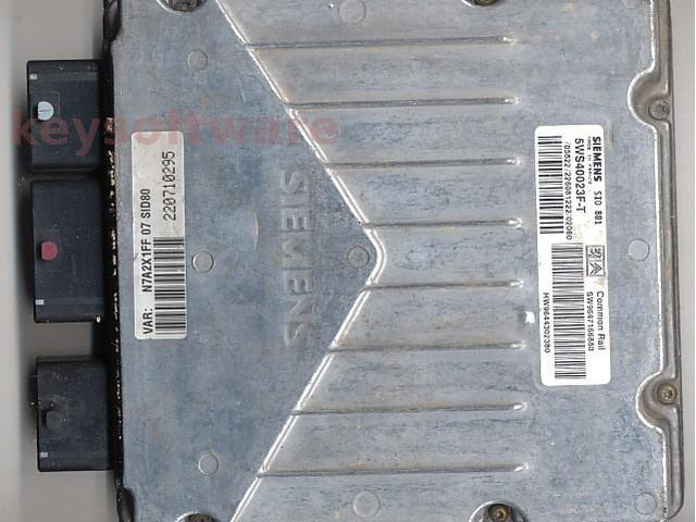 Defecte Ecu Citroen Xsara 2.0HDI 5WS40023F-T SID801