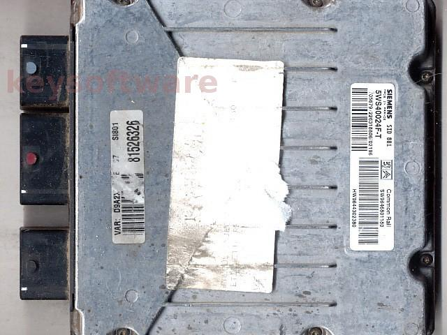 Defecte Ecu Peugeot 406 2.0HDI 5WS40024F-T SID801