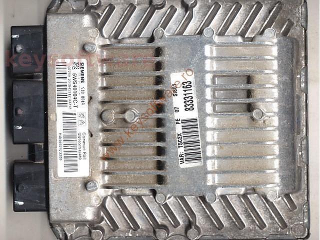 Defecte Ecu Peugeot 307 2.0HDI 5WS40104C-T SID801A