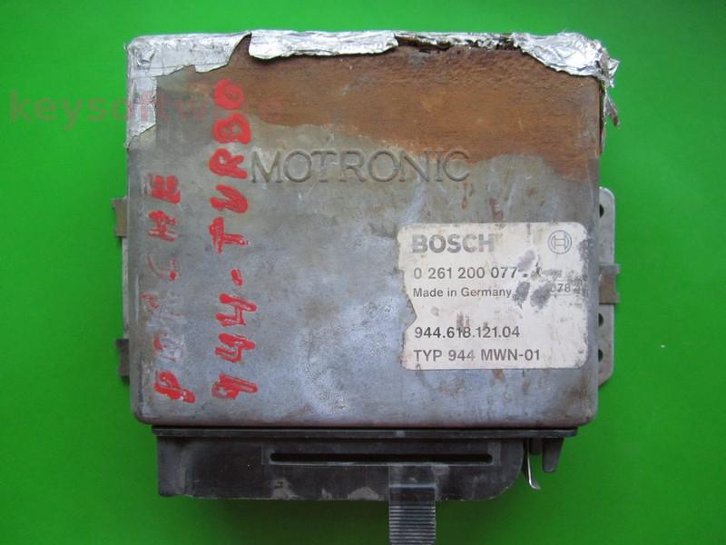 Defecte Ecu Porsche 944 0261200077