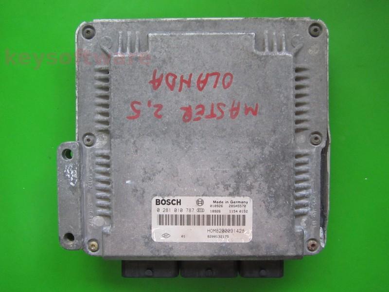 Defecte Ecu Renault Master 2.2DCI 8200132175 0281010787 EDC15C3