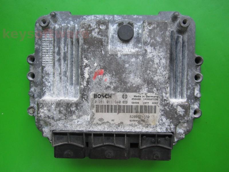 Defecte Ecu Renault Master 2.5DCI 0281011940 EDC15C13