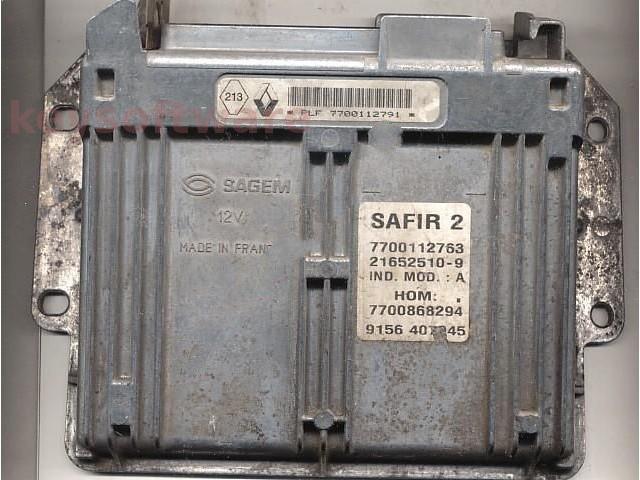 Defecte Ecu Renault Clio 1.2 HOM7700868294 SAFIR2 35p