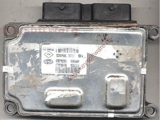Defecte Ecu Renault Clio 1.2 8200162381 IAW 5NR.C2