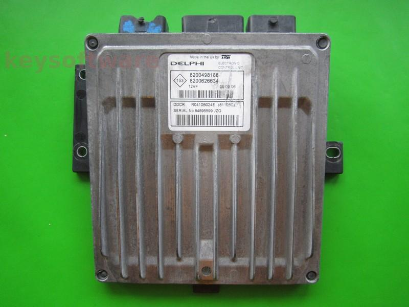 Defecte Ecu Renault Megane 1.5DCI 8200626634 81195C DDCR