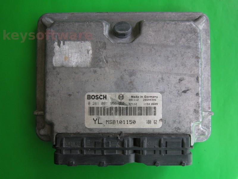 Defecte ECU Rover 220 2.0 0281001956 EDC15M1 YL