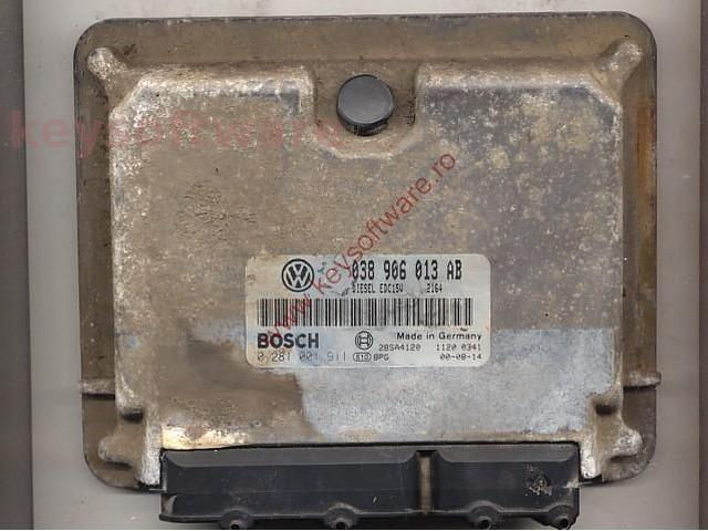 Defecte Ecu Seat Ibiza 1.9SDI 0281001911 EDC15V