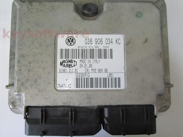 Defecte Ecu Seat Ibiza 1.4 036906034KC IAW 4TV.KC BKY