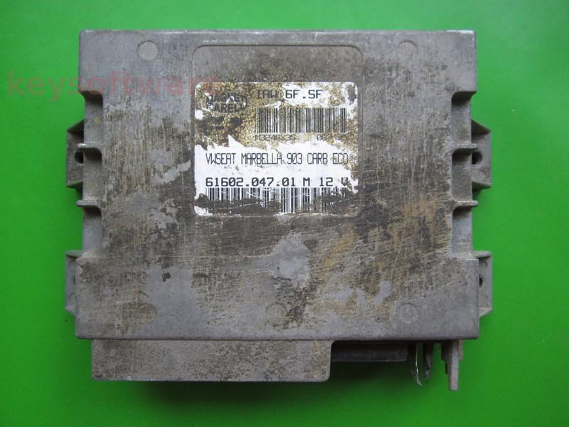 Defecte Ecu Seat Marbella 0.9 6160204701 IAW 6F.SF