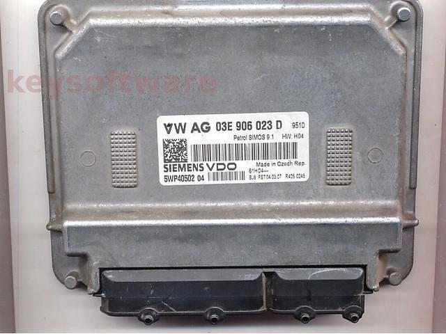 Defecte Ecu Skoda Fabia 1.2 03E906023D SIMOS 9.1