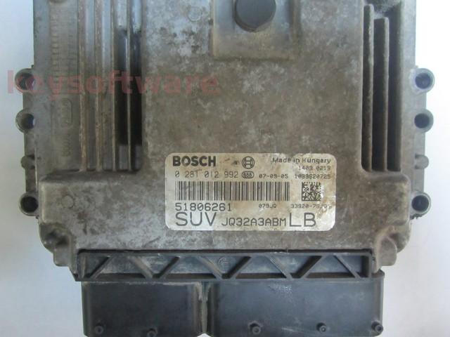 Defecte Ecu Suzuki SX4 1.9HDI 0281012992 EDC16C39